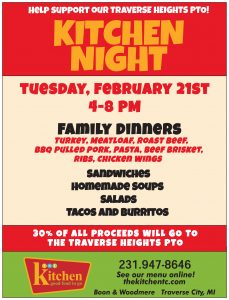 Support Traverse Heights PTO at The Kitchen